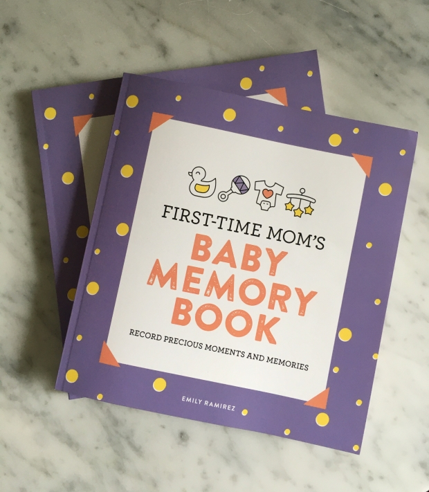First time mom's baby memory book